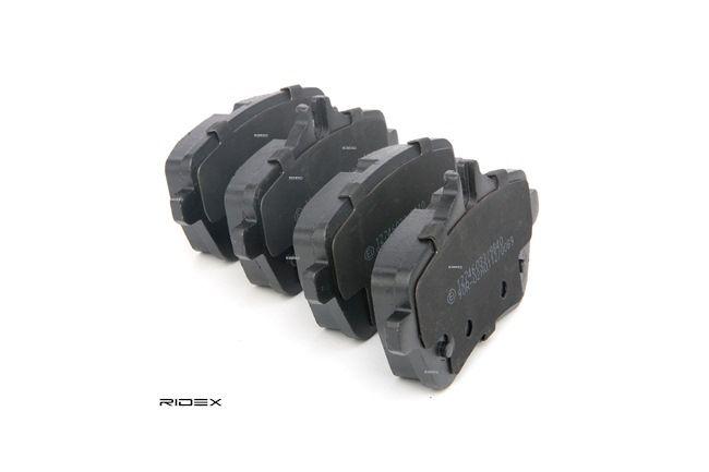 Bremsbelagsatz, Scheibenbremse Breite: 116,2mm, Höhe 1: 65mm, Höhe 2: 54,7mm, Dicke/Stärke: 18,8mm mit OEM-Nummer 008 420 3420