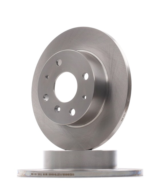 RIDEX Brake disc kit Front Axle, Solid
