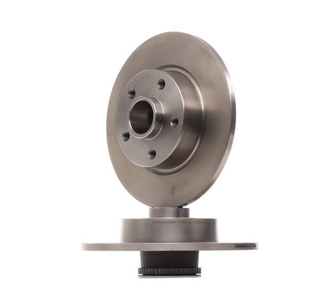 OEM Bremsscheibe RIDEX 12755059 für NISSAN