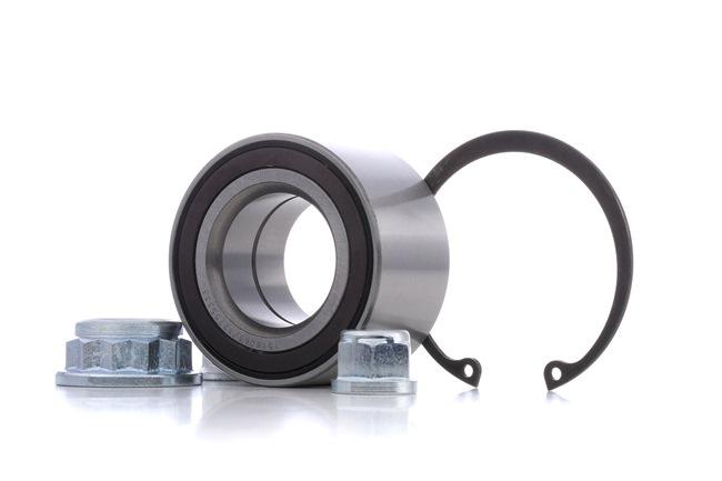RIDEX links, rechts, Vorderachse, mit ABS-Sensorring 654W0784