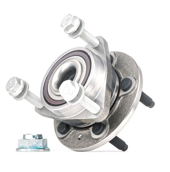 Wheel hub RIDEX 12755449 Front axle both sides, with integrated magnetic sensor ring