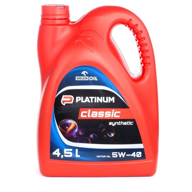 Buy cheap Engine Oil PLATINUM CLASSIC, SYNTHETIC, 5W-40, 4l from ORLEN online - EAN: 5901001772857