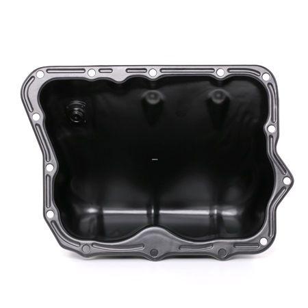 RIDEX Cárter de aceite con tornillo purga aceite, Chapa de acero