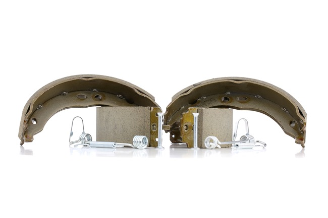 RIDEX Drum brake pads CITROËN Rear Axle, Ø: 172mm, with accessories
