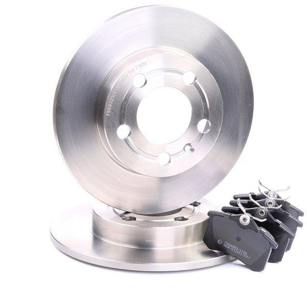 OEM Brake Set, disc brakes RIDEX 3405B0288