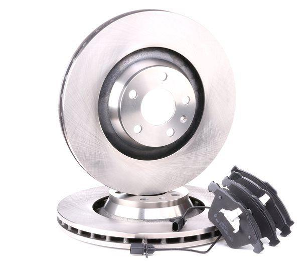 Bremsensatz, Scheibenbremse Bremsscheibendicke: 30mm mit OEM-Nummer 4F0698151B