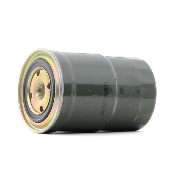 Filtro de combustible RIDEX 12768468 Filtro enroscable