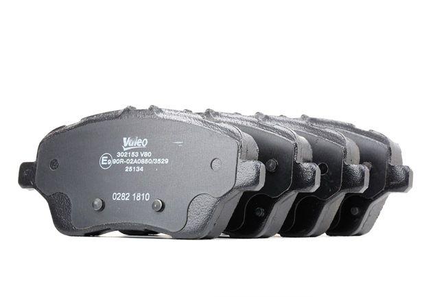 Brake Pad Set, disc brake 302153 FIESTA 6 1.25 MY 2013