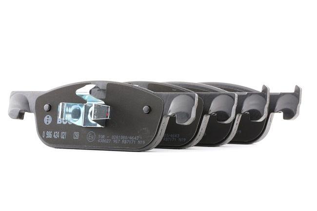 Bremsbelagsatz, Scheibenbremse mit OEM-Nummer 410605536R