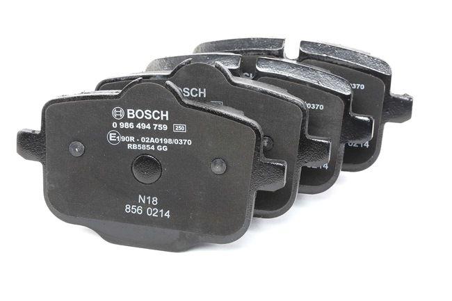 BOSCH 0986494759 Brake pad set disc brake