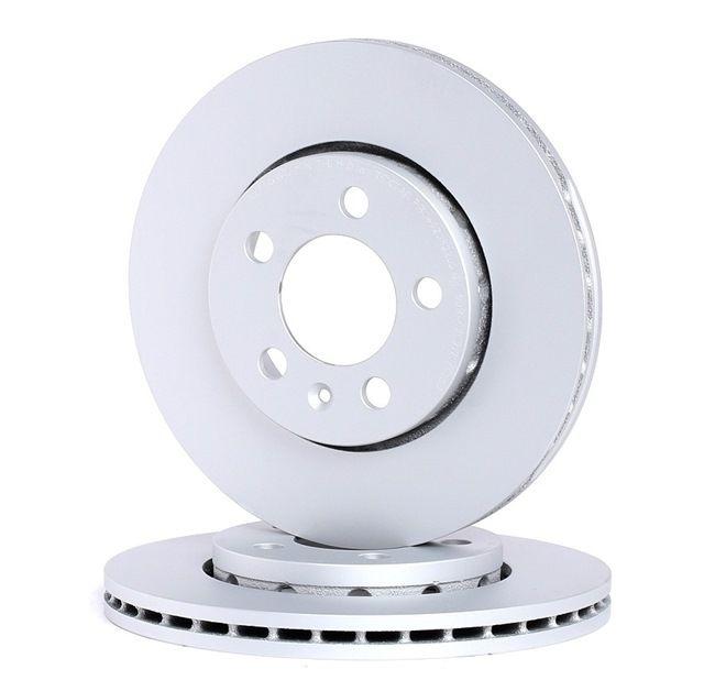 Bremsscheibe Bremsscheibendicke: 22mm, Ø: 256mm mit OEM-Nummer 1JE615301