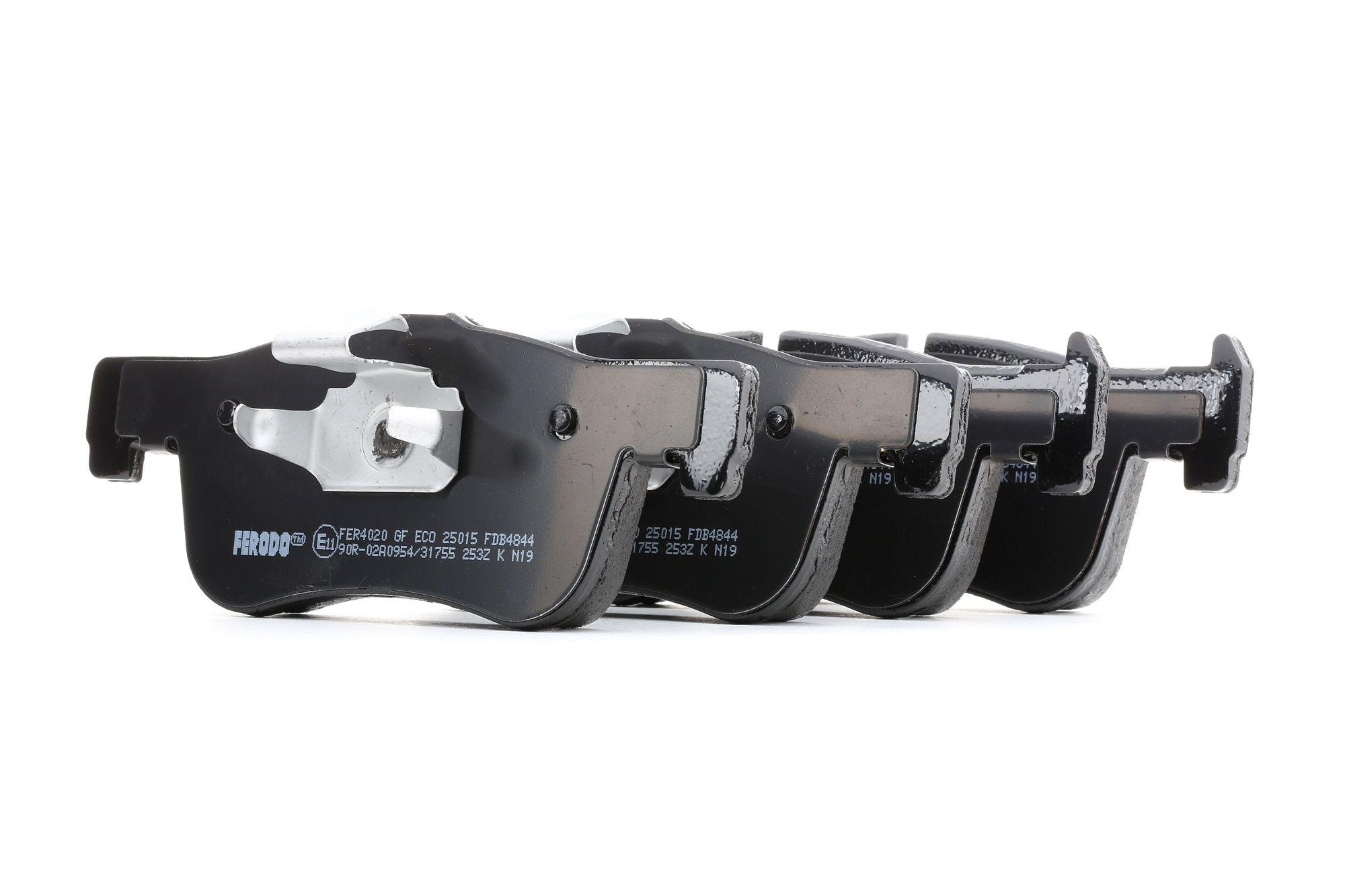 Bremsbelagsatz FERODO 25014 Bewertung