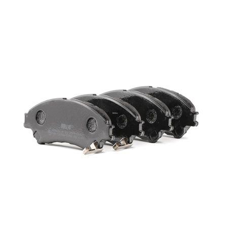 Bremsbelagsatz, Scheibenbremse Höhe 1: 54,9mm, Dicke/Stärke: 16mm mit OEM-Nummer 55810 61M 01