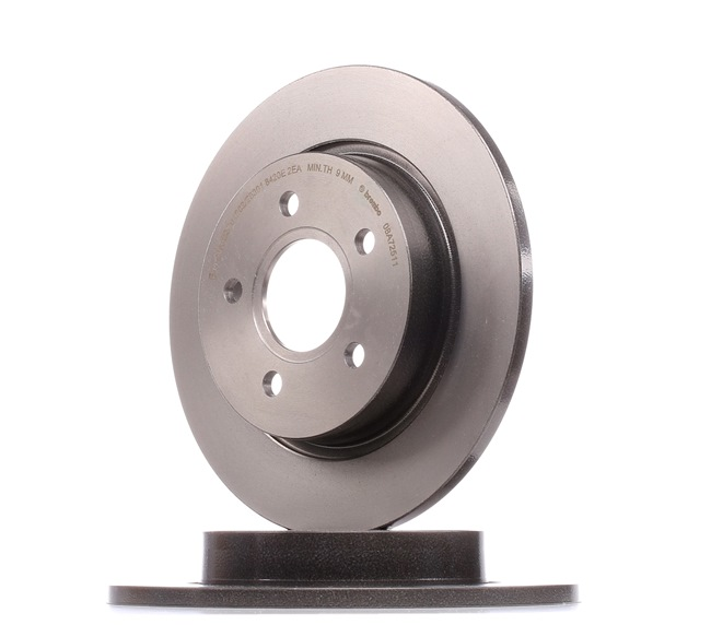 Brake discs and rotors BREMBO 12812202 Solid, Coated
