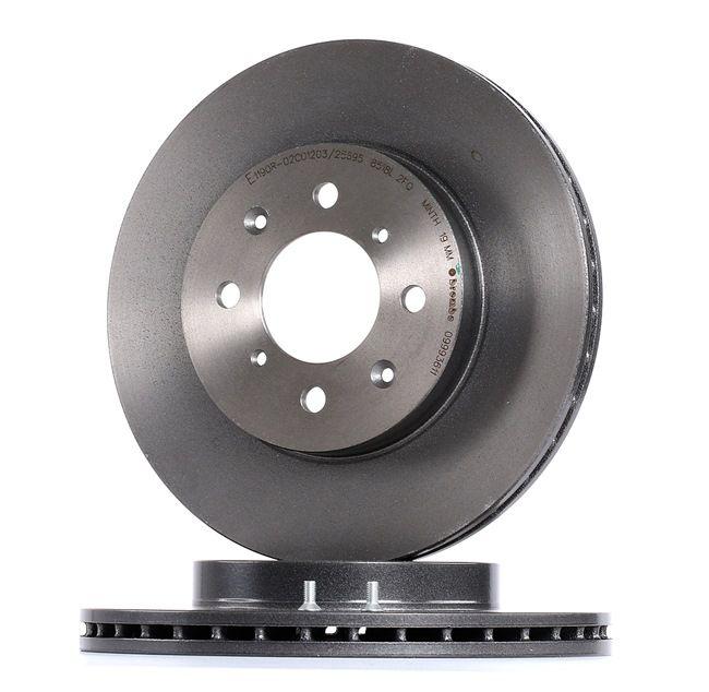 BREMBO 09993611 Disc brake set