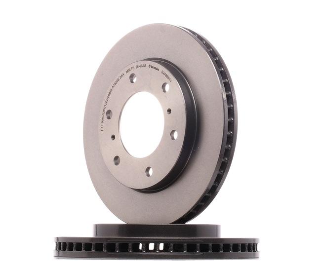 BREMBO 09A86811 Disc brake set