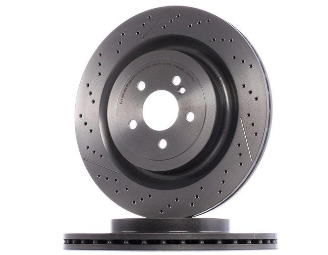 BREMBO 09B87911 Disc brake set