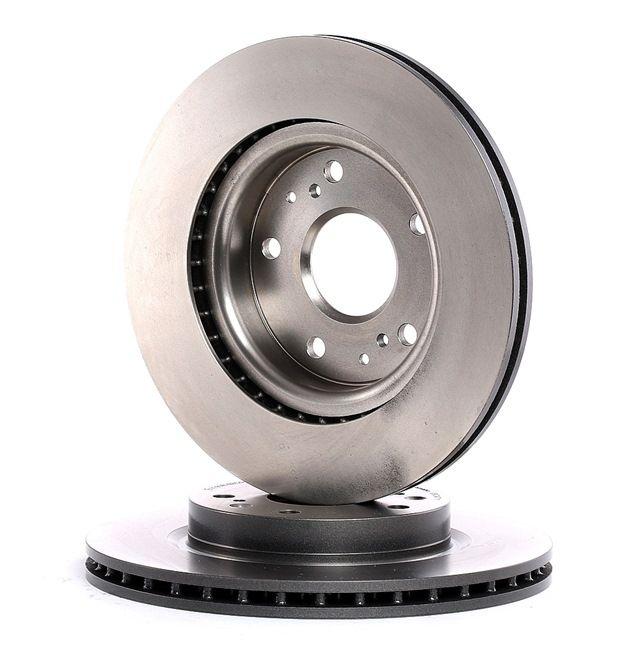 Bremsscheibe Bremsscheibendicke: 22mm, Lochanzahl: 5, Ø: 279,5mm mit OEM-Nummer 5531161M00