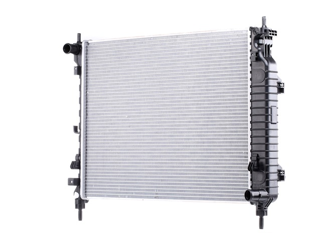 NISSENS Radiator engine cooling VAUXHALL 1, Brazed cooling fins, without frame