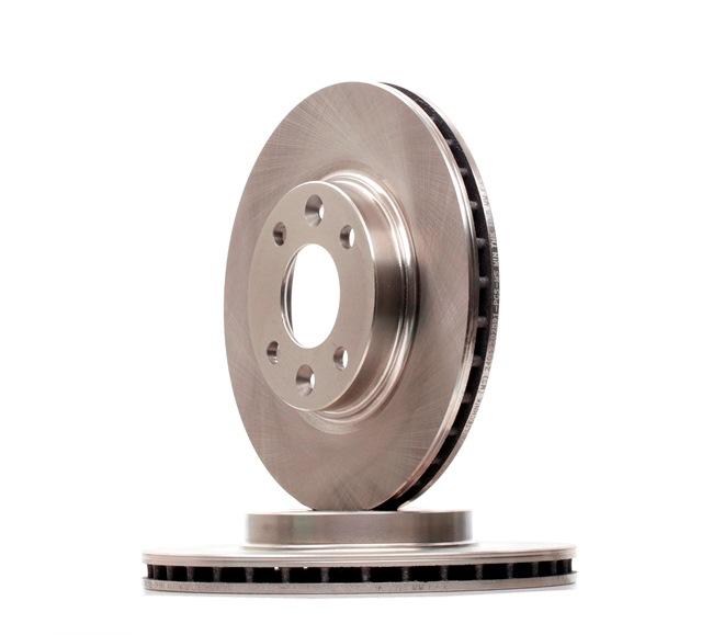 Brake Disc 24012202891-PCS-MS Clio 4 (BH_) 1.5 dCi 75 MY 2015