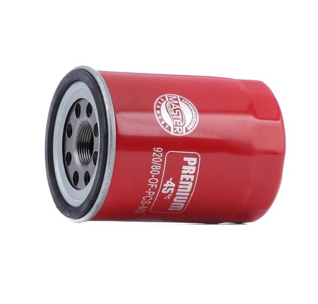 Ölfilter Ø: 93mm, Außendurchmesser 2: 88mm, Innendurchmesser 2: 80mm, Innendurchmesser 2: 80mm, Höhe: 121mm mit OEM-Nummer 1651678E01000