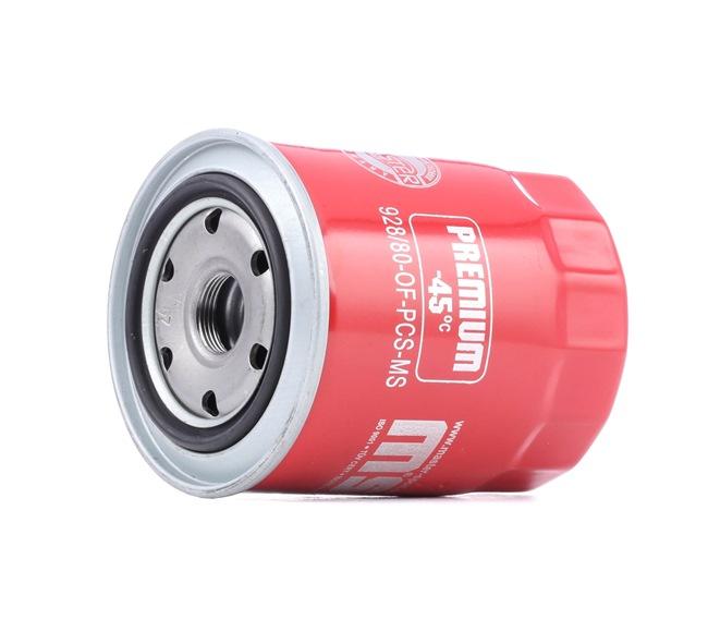Filtro de óleo MASTER-SPORT 440928800 Cartucho filtrante, com uma válvula de retenção