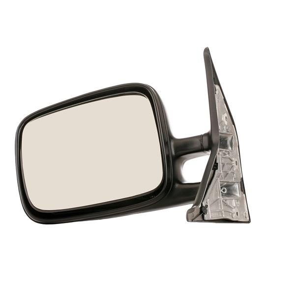 VAN WEZEL links, für manuelle Spiegelverstellung, Komplettspiegel, plan 5874801