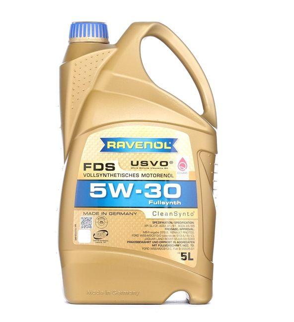 Olio auto 5W-30, Contenuto: 5l, Olio sintetico 100% EAN: 2246112992250