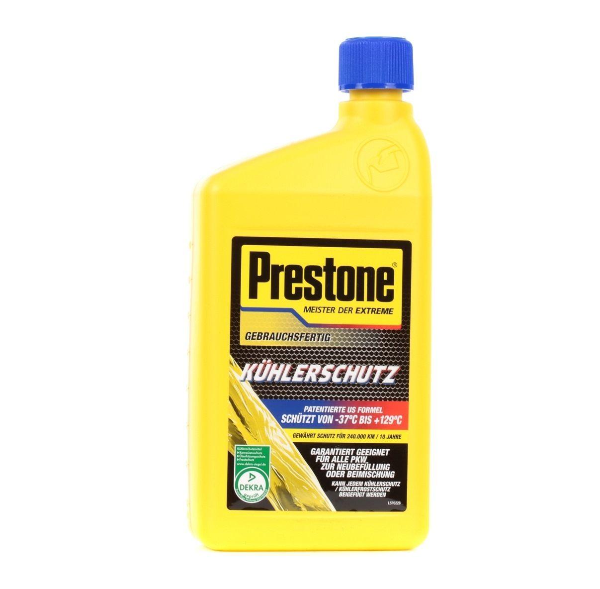 Glycol antifreeze Prestone AF2000LD rating