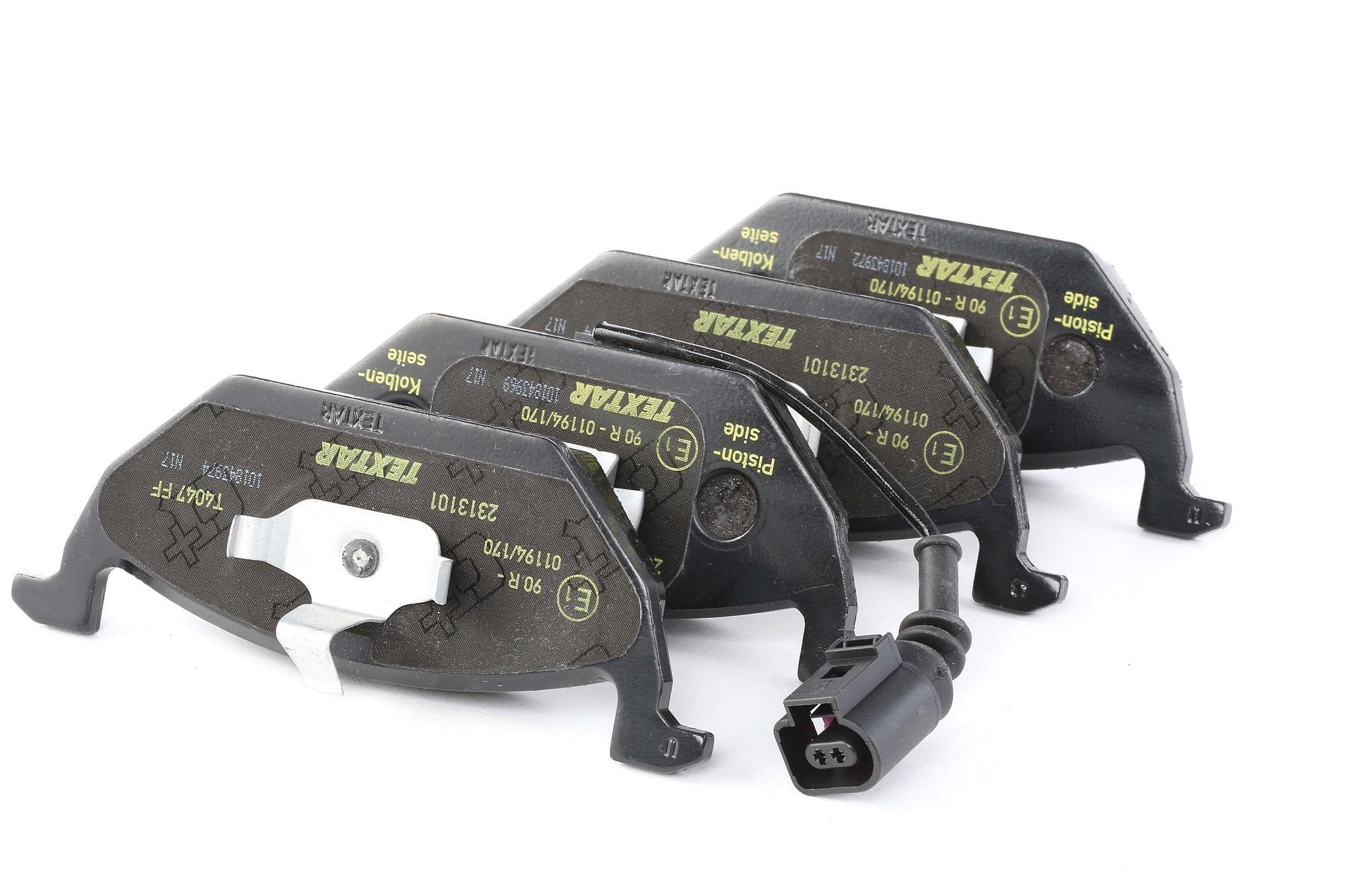Bremsbelagsatz TEXTAR 23187 Bewertung