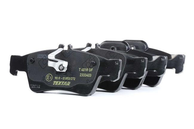 OEM Комплект спирачно феродо, дискови спирачки TEXTAR 2333403