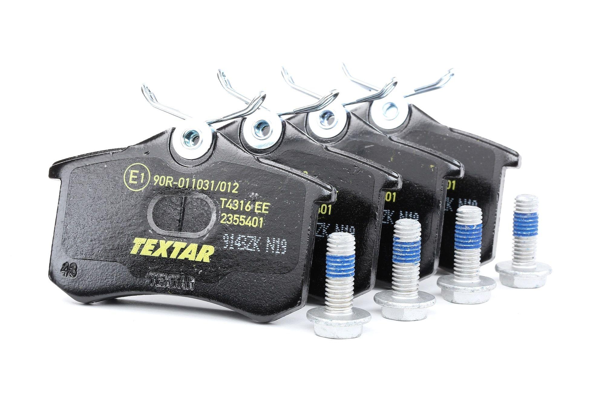 Bremsbelagsatz TEXTAR 7335D340 Bewertung