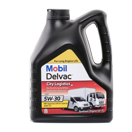 Engine oil SSANGYONG 5W-30, Capacity: 4l
