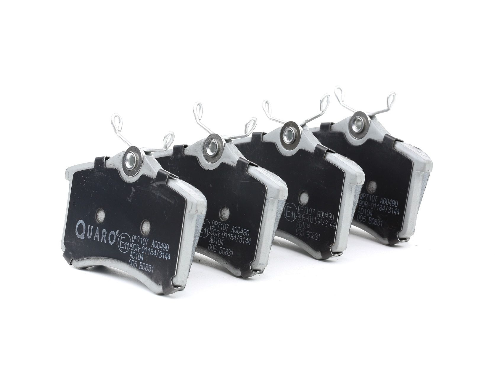 Bremsbelagsatz QUARO QP7107 Bewertung