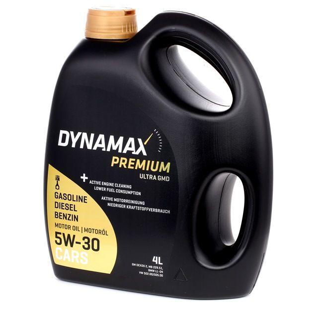 Køb billige Olie til biler fra DYNAMAX PREMIUM, ULTRA GMD, 5W-30, 4l online - EAN: 224881134250061342500