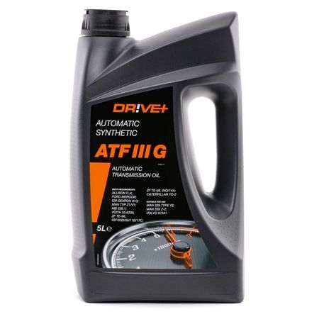 Dr!ve+  DP3310.10.082 Hydraulic Oil Capacity: 5l, GM DEXRON II + IIIG, Ford MERCON, Allison C-4; Caterpi, Daimler Chrysler 236, Voith G 607/ H55.633