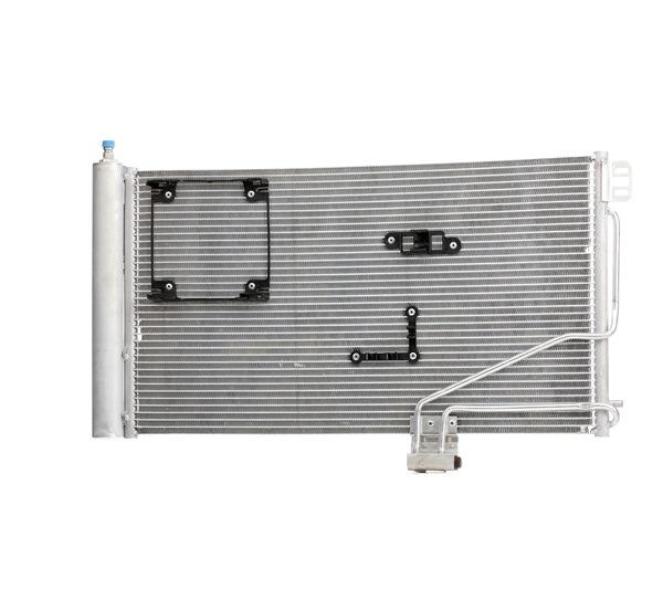Kondensator, Klimaanlage Netzmaße: 640x371x16 mit OEM-Nummer A2035001354