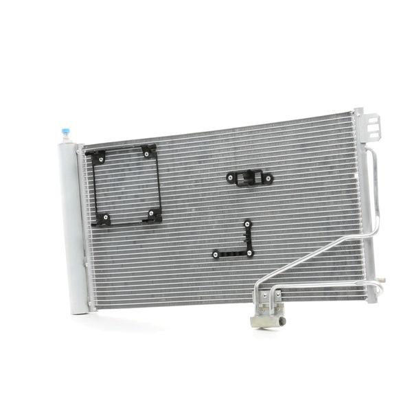 Kondensator, Klimaanlage Netzmaße: 640x371x16 mit OEM-Nummer A 203 500 13 54