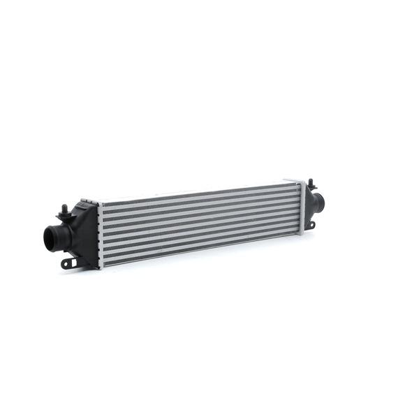 RIDEX Радиатор интеркулер OPEL размери на питата на радиатора: 573 x 130 x 55 mm