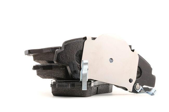 Bremsbelagsatz, Scheibenbremse Höhe 1: 50mm, Dicke/Stärke: 16,6mm, 17,0mm mit OEM-Nummer 58101-B4A00
