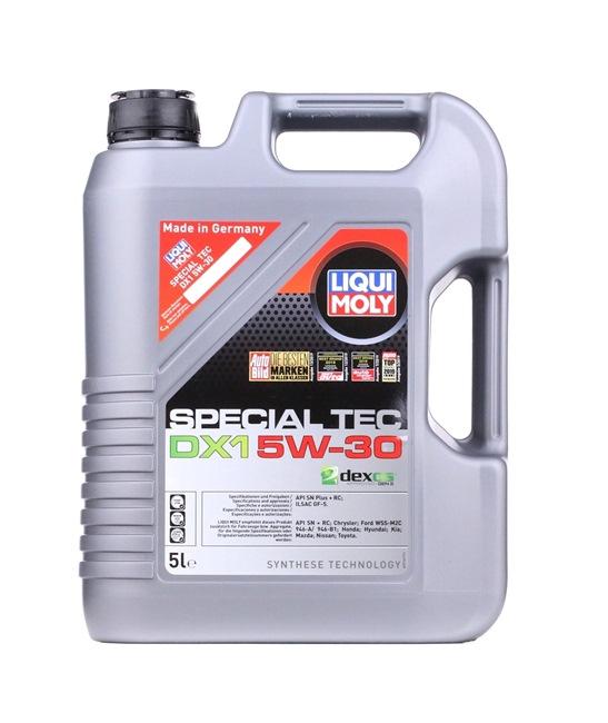 LIQUI MOLY Motorenöl DEXOS1 GEN 2 5W-30, Inhalt: 5l