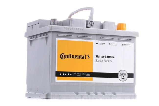 Continental Starter 65Ah, 12V, 640A, B13, Bleiakkumulator, L2 2800012021280