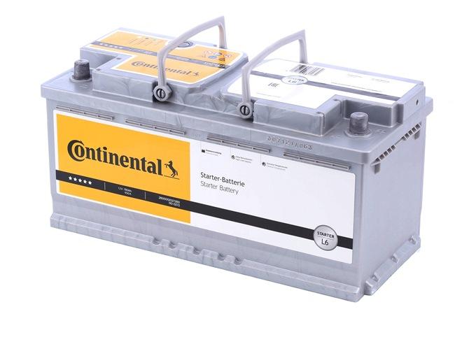 Continental Starter B13 , 110 Ah , 12 V , L6 , 950 A , Bleiakkumulator 2800012027280