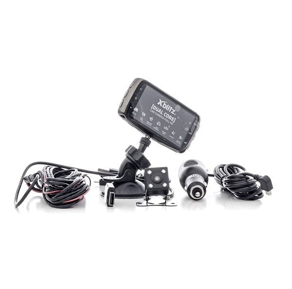 Dashcams Aantal camera's: 2, Invalshoek: 120°, 170° DUALCORE