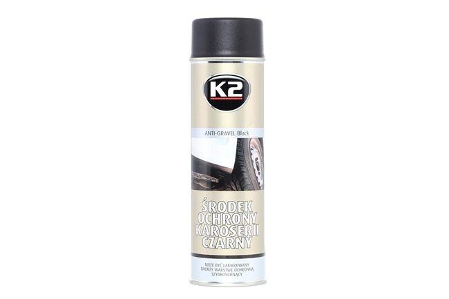 Steinschlagschutz K2 L310 für Auto (Sprühdose, Inhalt: 500ml, schwarz)
