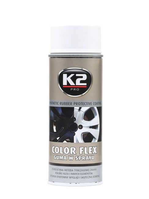 Automotive paints K2 L343BI for car (Spraycan, White, Contents: 400ml)