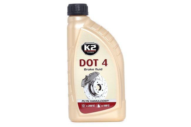 K2 Płyn hamulcowy Pojemność: 1l