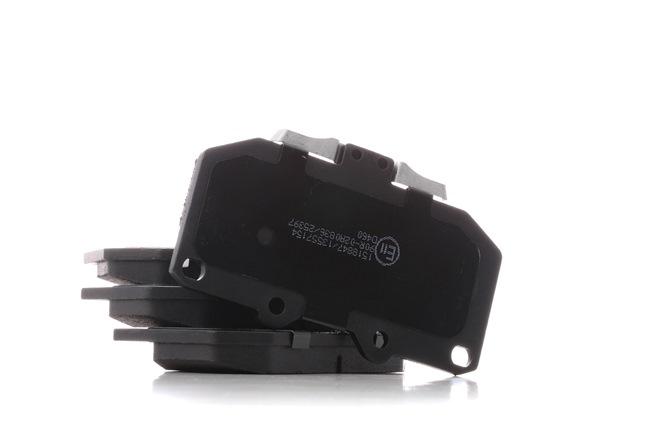 RIDEX Vorderachse, mit akustischer Verschleißwarnung 402B1281