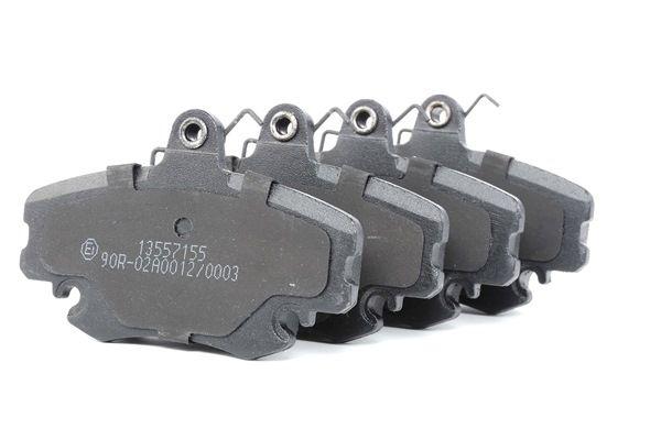 Bremsbelagsatz, Scheibenbremse Breite: 100,1mm, Höhe: 64,8mm, Dicke/Stärke: 18,2mm mit OEM-Nummer 77 012 048 33