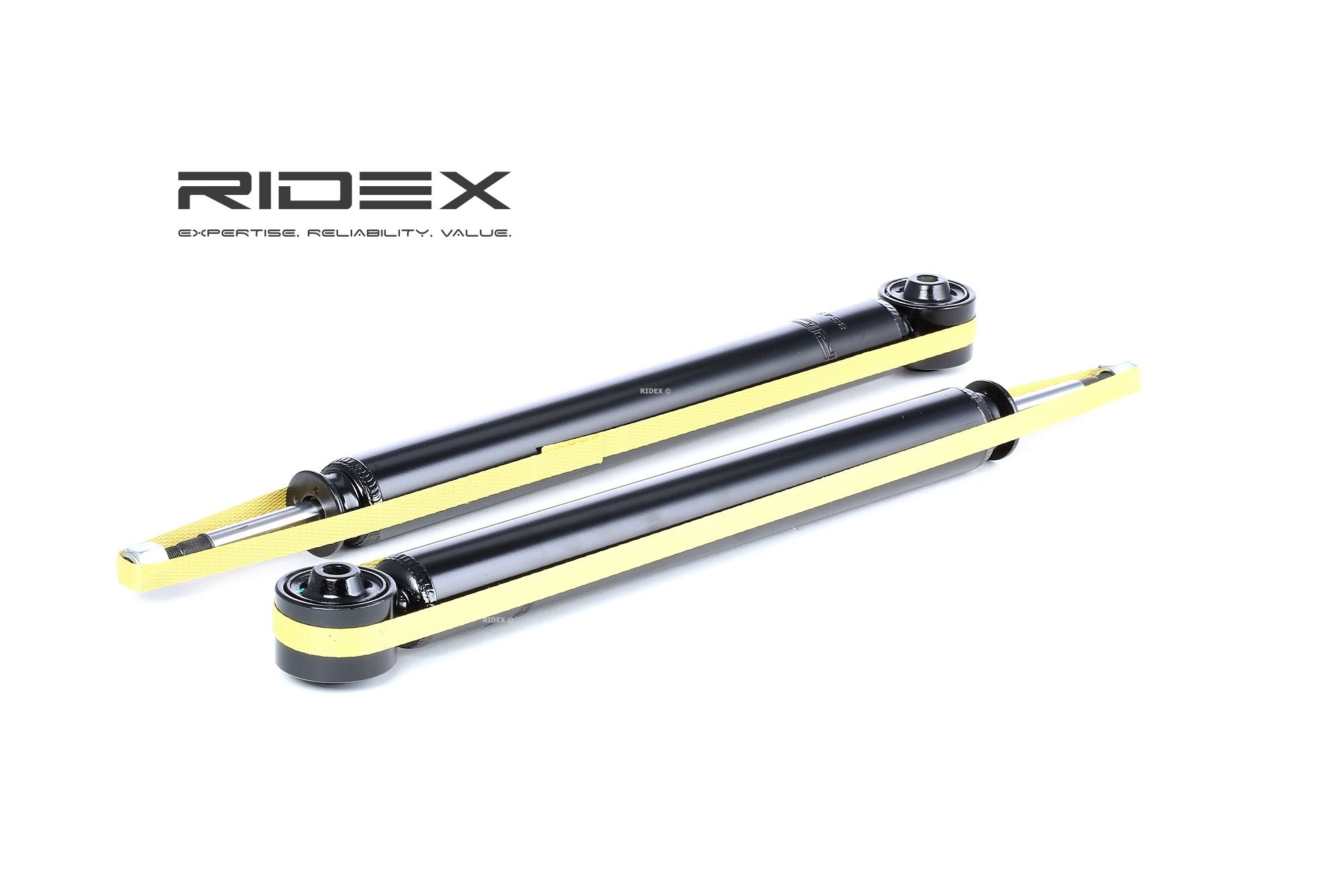 RIDEX 854S1536 Amortiguador Long.: 396mm, Long.: 633mm
